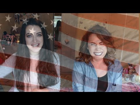 IRISH AND AMERICAN PALS CHAT! | Mary-Claire