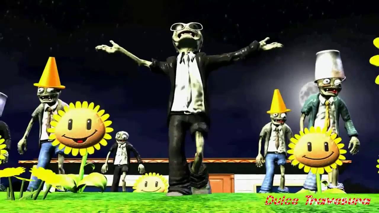 Plantas vs zombies animado (PARODIA) Gangnam Style