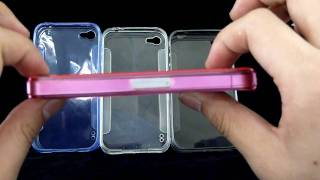 HD Transparent Soft Silicone Case for Apple iPhone 4