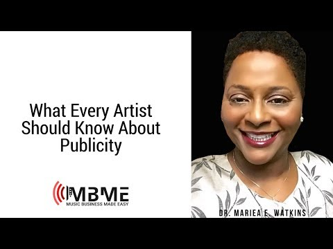 Music Business Tip_19 What Every Artist Should Know About Publicity