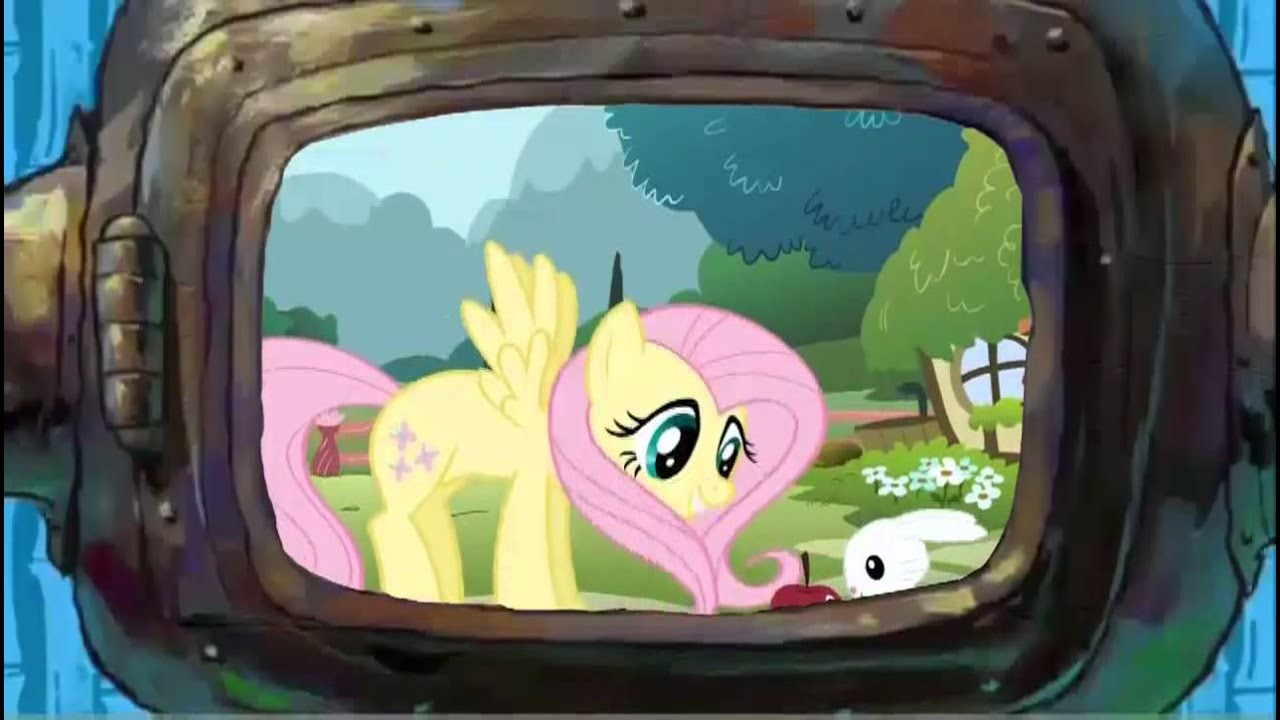 Spongebob watches my little pony friendship is magic youtube for Little pony watches