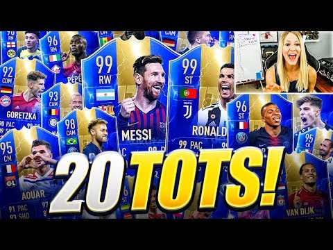 NOTHING BUT TOTS IN MY PACKS!! THIS IS INSANE!! - FIFA 19