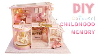 DIY Miniature House ♡ CAROUSEL…