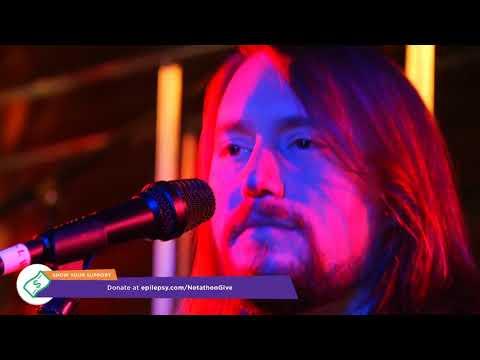 Jason Charles Miller performing with Lewitt at the Epilepsy Netathon