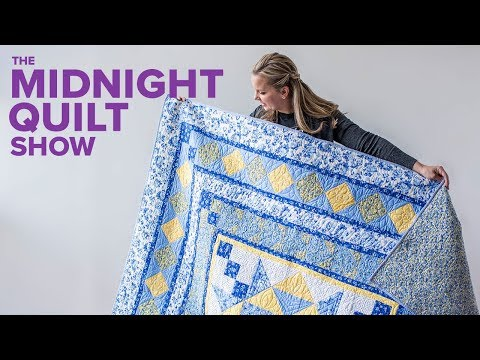 Blooming Medallion Quilt for Mom (A Guilt Trip) | Midnight Quilt Show with Angela Walters