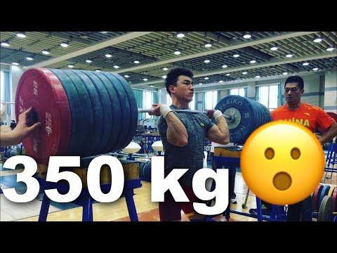 How do Chinese Weightlifters train? + Lu Xiaojun, Tian Tao & Liao Hui
