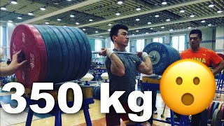 How do Chinese Weightlifters train? + Lu Xiaojun, Tian Tao & Liao Hui
