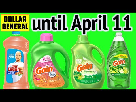 Dollar General Gain **DEALS** Until April 11!