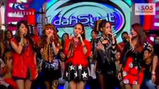 SOS (Sensation Of Stage) - Talk + Drop It Low Live at Dahsyat RCTI 130504