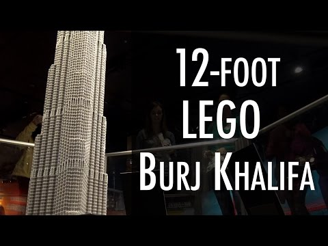 LEGO Burj Khalifa | Museum of Science and Industry