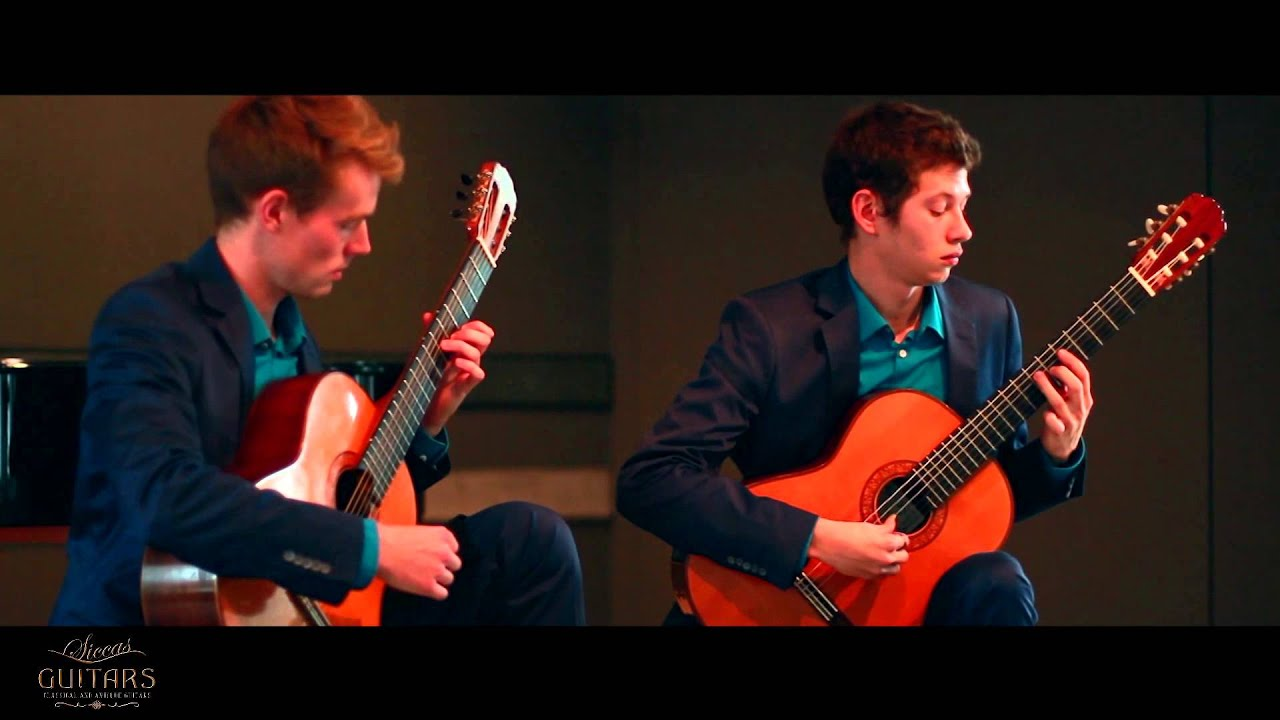 Duo Golz & Danilov plays Aragón by Isaac Albéniz