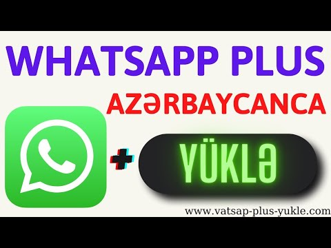 vatsap plus yukle 2021  WhatsApp Plus Yukle Yeni Versiya 2021
