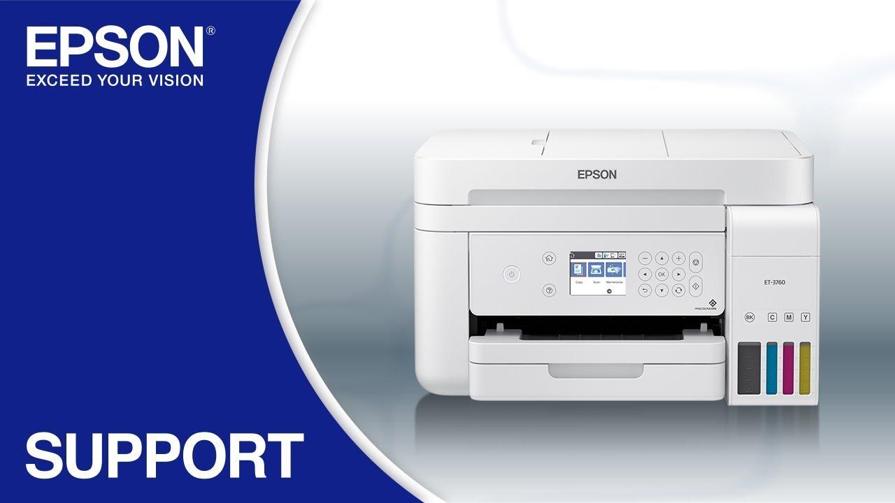 EcoTank ET-3760 All-in-One Supertank Printer (White)