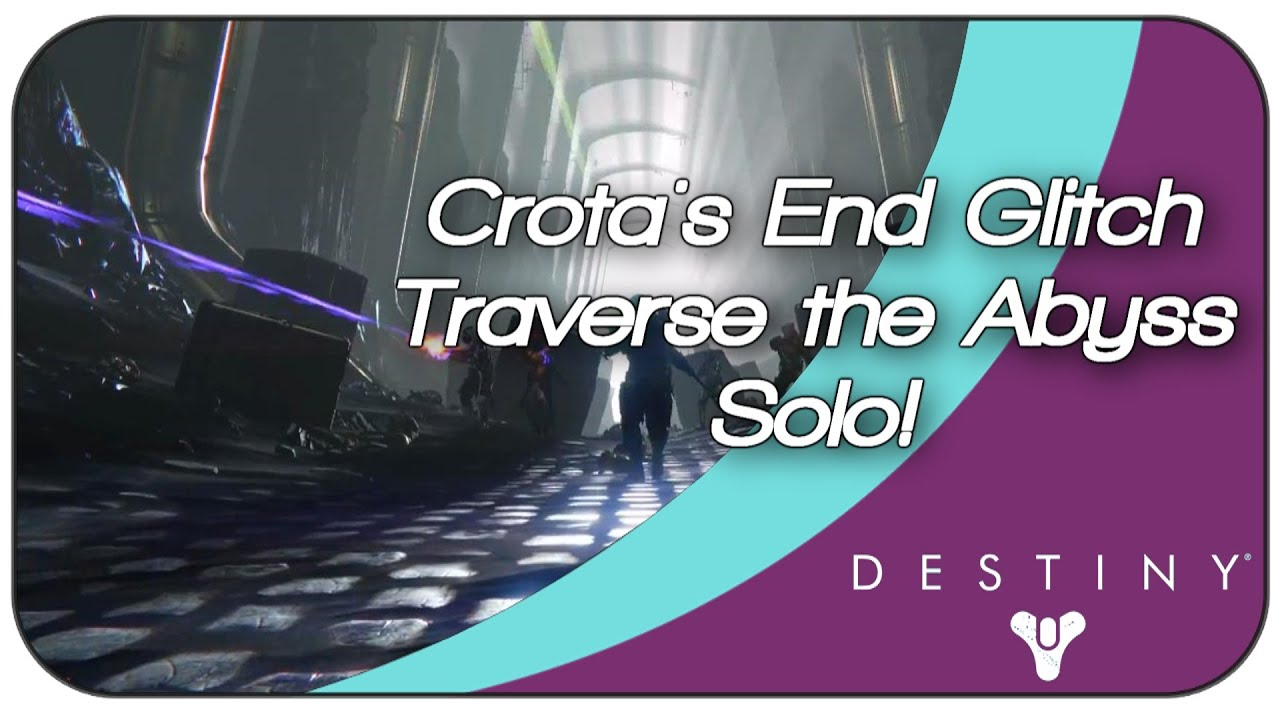 Destiny how many lamps are in crotas end - Destiny Dark Below Crota S End Glitch Traverse The Abyss Solo Easy Lamps Youtube