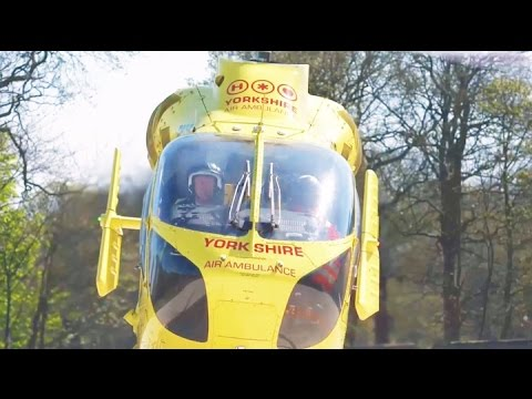 Yorkshire Air Ambulance needs £12,000 a day to keep saving lives