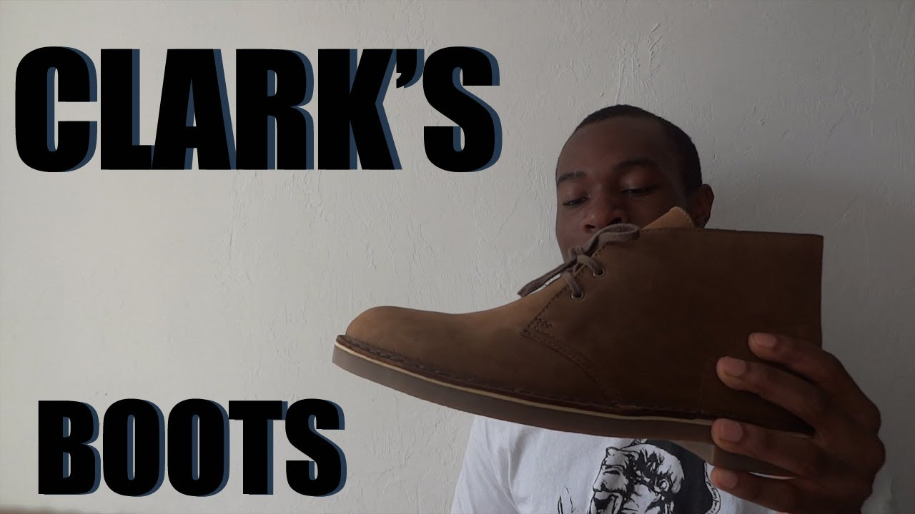 Clarks Desert Boot Review On Feet Youtube