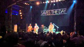 Saves The Day - Bones live at House Of Blues (Hollywood) 26/10/2011