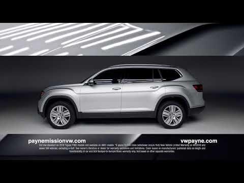 Volkwagen Atlas & Tiguan | Payne Mission Volkswagen | Mission, Tx