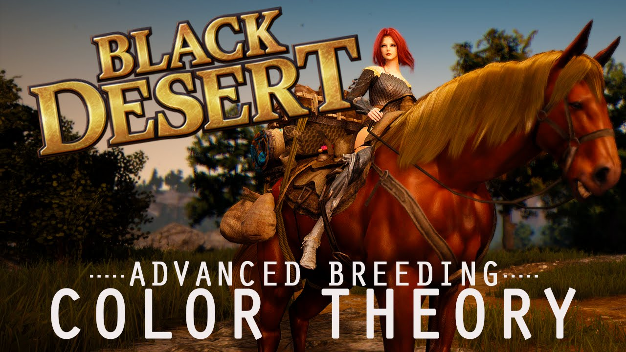 Color theory online games - Black Desert Online Color Theory And Selective Breeding