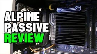 Arctic Alpine AM4 Passive Cooler Review