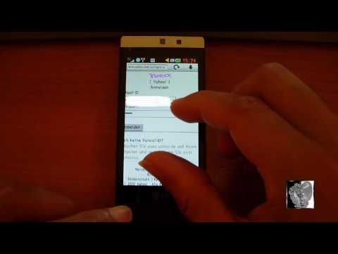LG GD880 mini: Passwörter im Browser löschen