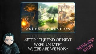 Ashes of Creation - 7 Jan 2019 Updates (Webpage Issues)