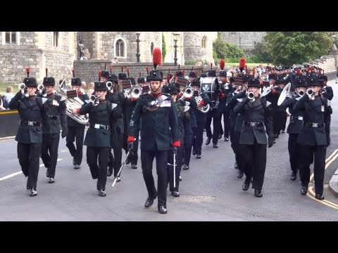 Changing the Guard at Windsor Castle   Tuesday the 22nd of May 2018