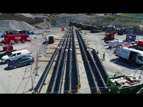 Watch the movie: Drilling and assembly of the tunnel for the NordLink project at Tonstad