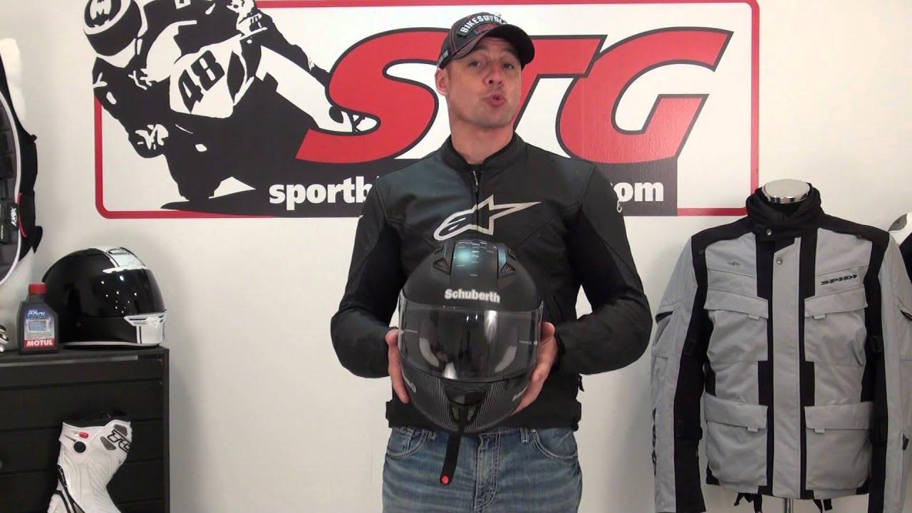 5a64ea38 Schuberth SR1 Helmet Road Test Review from SportbikeTrackGear.com ...