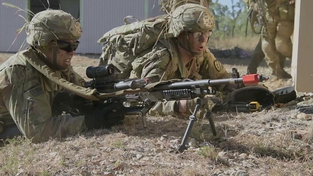 US Military News • Australian & US Army Combined Urban Assault • Queensland Australia July 29 2021