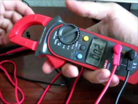 UNI-T UTM 1210E (UT210E) - компактные токовые клещи c True RMS .