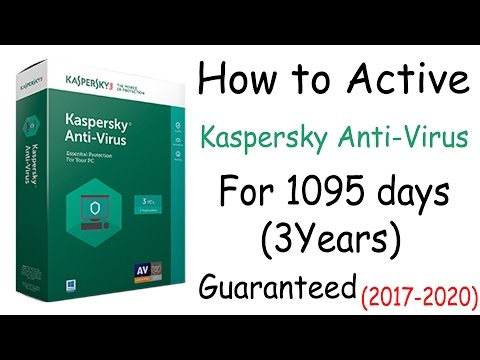 How to activate Kaspersky Total Security for 3 years (2017 to 2020) Crack Download 100% Proof