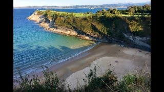 Spain Santander walking tour: city, beach, food, Centro Botin, GoPro HD