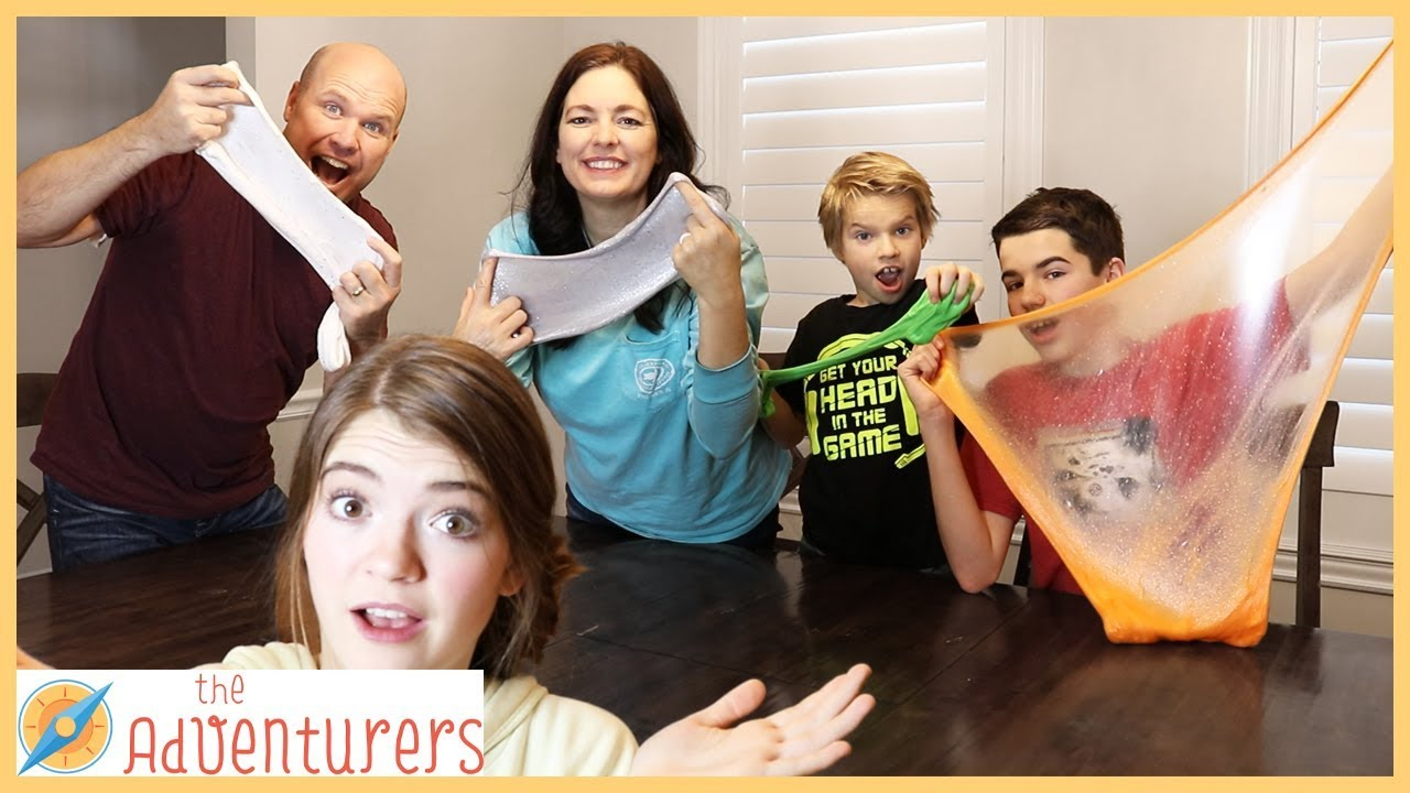 Download Who Made The Slime? Slime Making Challenge I That YouTub3 Family The Adventurers