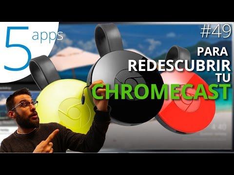 Las mejores apps para disfrutar de tu Chromecast