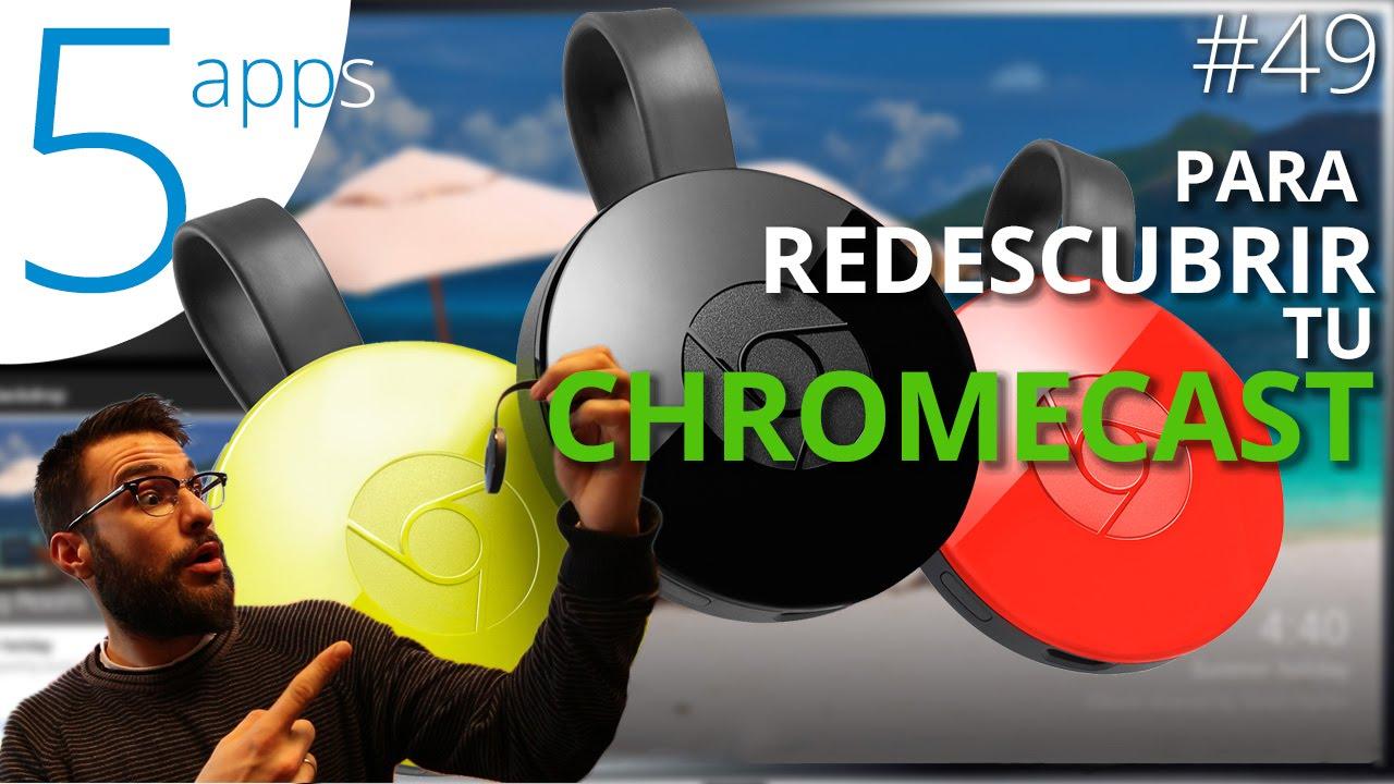 aplicaciones compatibles con chromecast