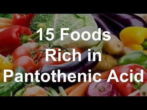 15 Foods Rich in Pantothenic Acid (Vitamin B5) - Foods With Pantothenic Acid