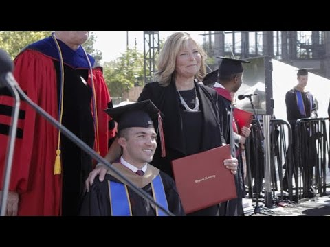 Mom Who Attended Every Class With Quadriplegic Son Gets Honorary MBA
