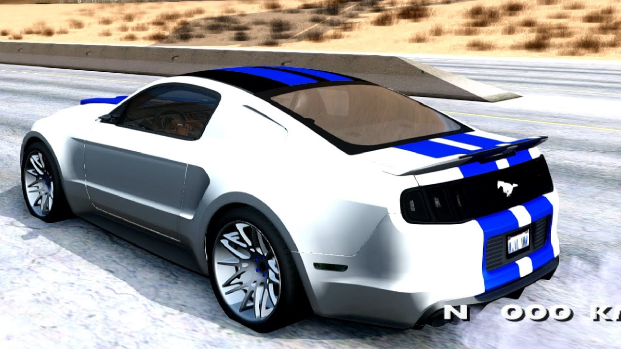 2013 ford mustang need for speed movie edition gta san