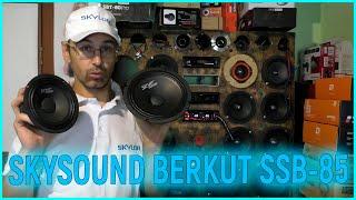 Автомобильная акустика SKYLOR SKYSOUND BERKUT SSB 85, обзор, прослушка с твитером, рекомендации