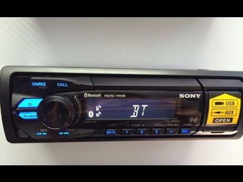 Обзор Sony Dsx-A55BTE.