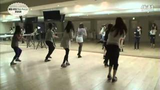110705 T-ara Roly-Poly練習室【Japan First Show】