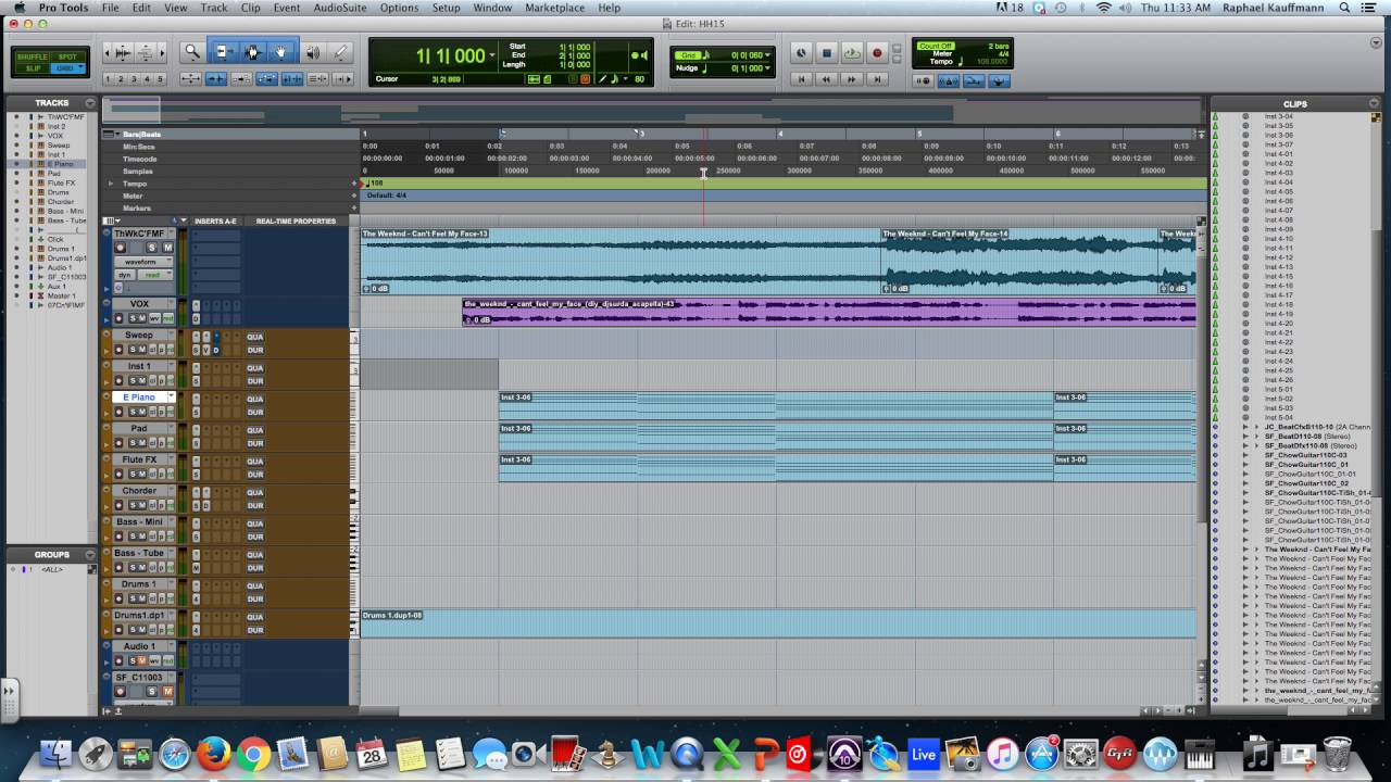 How to Nudge in Pro Tools