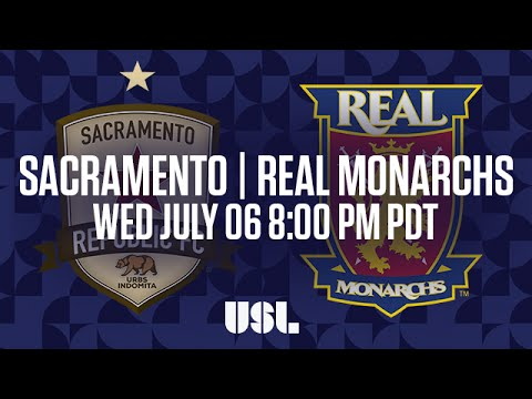 WATCH LIVE: Sacramento Republic FC vs Real Monarchs SLC 7-6-16