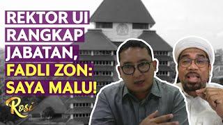 Debat Panas Ngabalin & Fadli Zon Soal Rektor UI Rangkap Jabatan   Rosi (3)