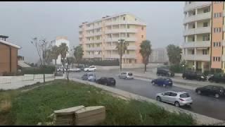 Tempesta d'acqua a Termoli
