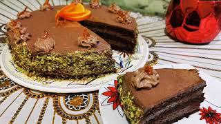 Tort ciocolatos _se topeste in gura