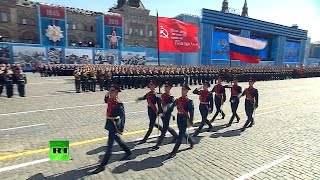 """The Sacred War"" Victory Day Parade on Moscow"