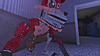 NIGHTMARE FOXY ME ASUSTA COMO NUNCA ANTES - Five Nights at Freddy's 4 Doom Mod (FNAF Game)