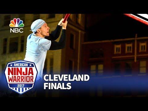 Alexi Matousek at the Cleveland City Finals - American Ninja Warrior 2017